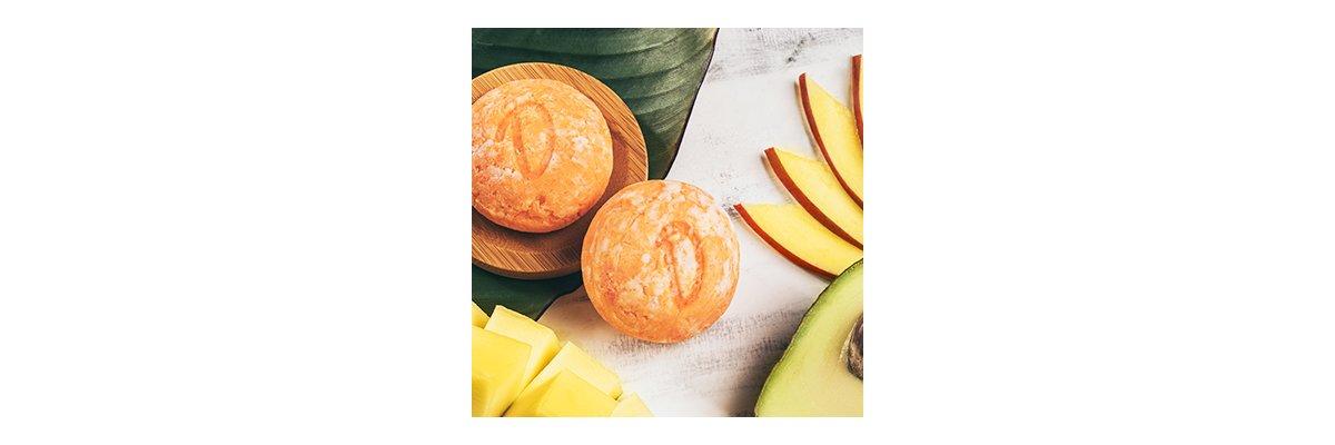 Duschkind festes Shampoo Mango-Avocado: Öle pflegen Dein Haar geschmeidig weich! - Duschkind Mango-Avocado bio vegan sulfatfrei bio pH-hautneutral